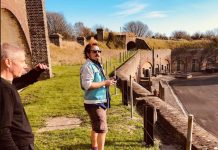 Fort Burgoyne Explorers Walks engagement placemaking