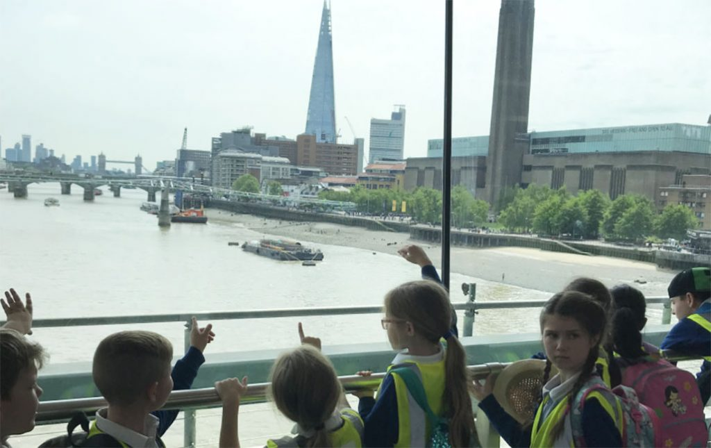 London Tate Modern day trip ramsgate arts child leadership pioneering places