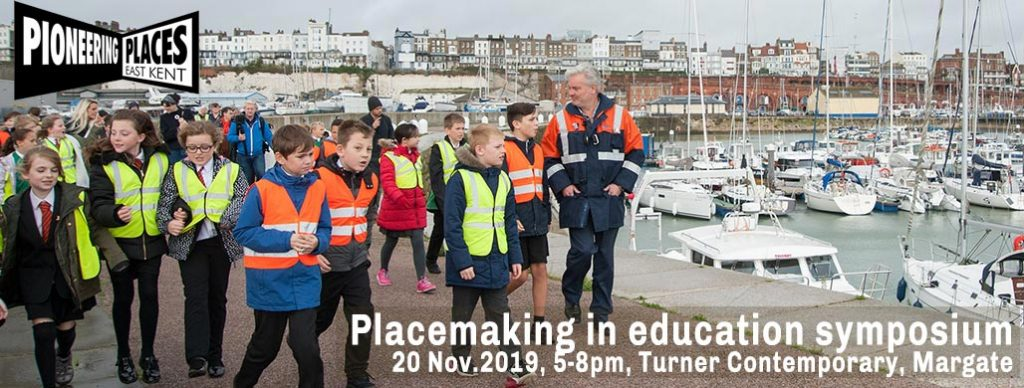 pioneering places placemaking education symposium banner turner contemporary 20 november 2019