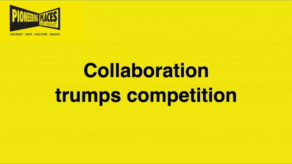 Collaboration trumps competition