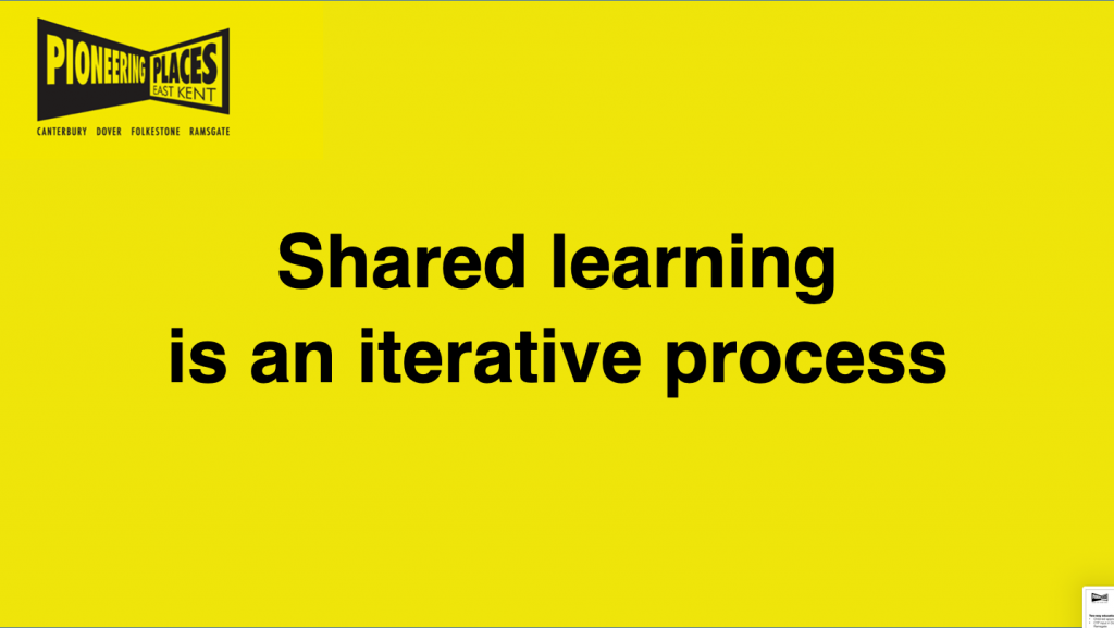shared learning is an iterative process