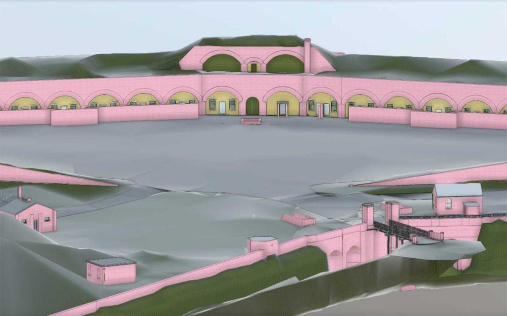 3d scan fort burgoyne dover placemaking
